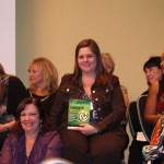 Tina Dietz at book launch party