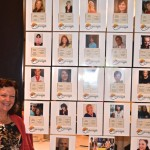 Wall of fame for co-authors in attendance