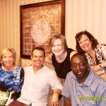 Lisa Barnett, John Burgos, Silke Nied, Judy O'Beirn and Willie Tart