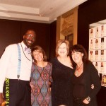 Willie Tart, Cammie Ritchie, Silke Nied & Beverley Golden